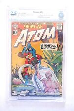 ALL ATOM KEYS SHOWCASE #34,35+#36 ALSO ATOM #1 4 KEY SILVER ATOM BOOKS! WOW