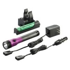 Streamlight 75492 Stinger DS LED HL Rechargeable Flashlight - 120/DC  - Purple