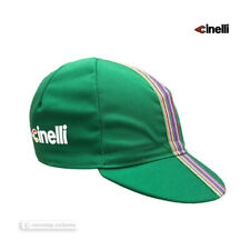 NEW Cinelli CIAO Collection Cycling Cap GREEN - Made in Italy!