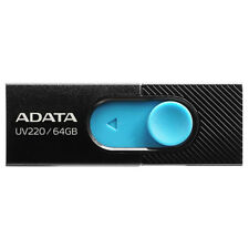 Pendrive 64GB Usb2.0 Adata Uv220 negro / azul