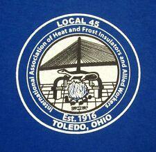 INTERNATIONAL ASSOCIATION OF HEAT & FROST INSULATORS union T shirt 3XL tee XXXL