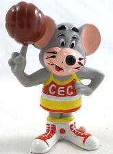 PVC Chuck E. Cheese Basketball on Finger Show biz Pizza Figure  Set Lot