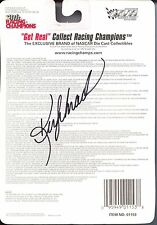 Racing Champions Stock Car 1997 Ken Shrader #33 Autographed NASCAR 1:64 Diecast