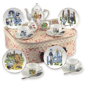 Reutter Porcelain - Tea Set In A Case - Medium - Wizard Of Oz