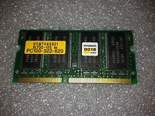 Memoria SoDimm Sdram Hyundai HYM7V65801BLTQG-10S 64MB PC100 100MHz CL2 144 Pin