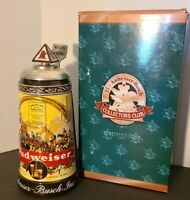 """ANHEUSER BUSCH COLLECTORS CLUB """"HISTORICAL ADVERTISING 1936"""" STEIN - 2003"""