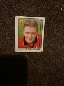 David Beckham (Manchester United) ROOKIE Sticker (Merlin Premier League 96) 40