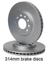 SAAB 93 9-3 (02-) 1.8 1.9 TiD TTiD 2.0 2.2 2.8 TURBO 314mm FRONT BRAKE DISCS SET