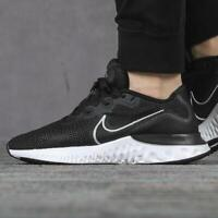 NIKE RENEW RUN Running Trainers Gym Shoes Casual Black UK Size 9,  9.5,  10,  12