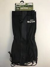NEW sherpa gaiters LARGE leg protection for hikers trekkers lightweight
