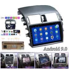 9inch Android 9.0 Car Radio Multimedia Player GPS Nav For Toyota Corolla 2008-13
