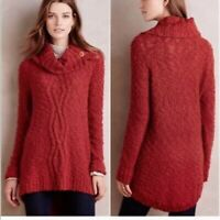 Moth Anthropologie cowl neck tunic sweater XS