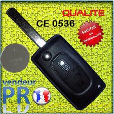 CE0536 COQUE CLE TELECOMMANDE PLIP Citroen JUMPER SAXO C1 C2 C3 C4 C5 C6 PICASSO