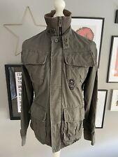 G-STAR RAW DENIM Men's NEW DELTA SHIRT Jacket Khaki Green Size Large
