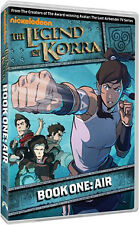 LEGEND OF KORRA - BOOK ONE - AIR - DVD - REGION 2 UK