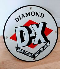 Diamond D-X Gas Oil gasoline sign . free ship on any 8 signs