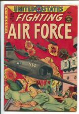 U.S. Fighting Air Force #26 1956-Superior-Korean War-Fight the commies-FN