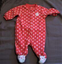 Newborn Polka Dot Owl Pajamas