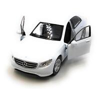 Coche a Escala Mercedes Benz E400 Clase E Sedán Blanco Auto 1 :3 4-39 (Peluches)