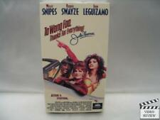 To Wong Foo, Thanks for Everything! Julie Newmar VHS Patrick Swayze Wesley Snipe