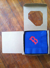 Boston Red Sox type paper napkins special occasion blue with red B