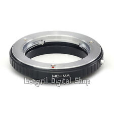 Macro lens adapter for Minolta MD MC Lens to Sony Alpha Minolta MA A57 A77 A900
