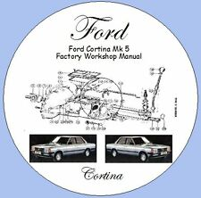 Ford Cortina Mk 5 1979-1982 Factory Workshop Manual