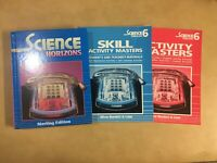 Science Horizons  Sterling Level 6 Student Textbook and Teacher's Manuals