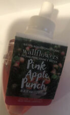 1 Bath & Body Works Pink Apple Punch Wallflower Bulb Refills New & Sealed!