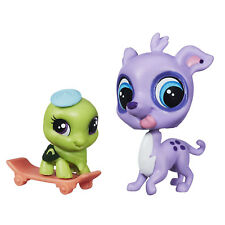 Littlest Pet Shop #3808 Speedy Carver Galgo y rápido Freddie tortini Tortuga