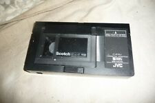 Cassette adaptor tape VHSC into VHS player JVC C-P7U