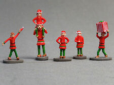 Lionel Polar Express Santa's Elves Figure Pack people O Gauge bell 6-83185 New