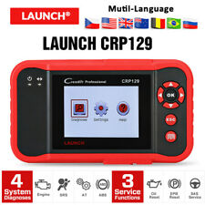 LAUNCH X431 CRP129 OBD2 Scanner Code Reader Car Engine ABS SRS Diagnostic Tools