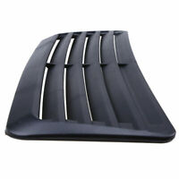 1X Black Car Air Flow Intake Scoop Turbo Bonnet Vent Cover Hood Fender Decorate