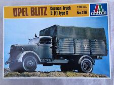 1/35 Italeri Opel Blitz 3ton truck