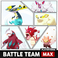 Pokemon Sword & Shield - Real Competitive Battle Team 1 - Ultra Shiny 6IV Bundle