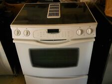 jenn air jes9800 white downdraft range smooth top