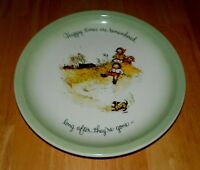 1972 Vintage Collector Plate Holly Hobbie Collector's Edition Happy Times USA