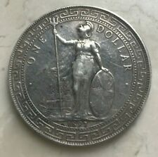 1897 Great Britain Trade Dollar - Cleaned