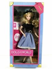 Barbie 2012  France Francia Doll of the world Passport Collector X8420 NRFB