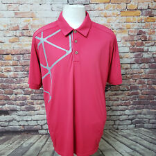 ADIDAS CLIMA CHILL PERFORMANCE POLYESTER POLO SHIRT SIZE XL A63-16