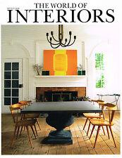 World of Interiors Architecture, Art & Design Magazines