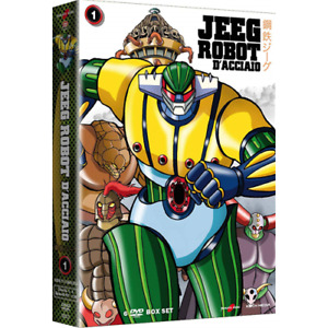 JEEG ROBOT D'ACCIAIO Vol. 1 (6 Dvd)