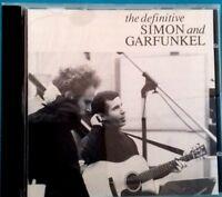 THE DEFINITIVE SIMON & GARFUNKEL - SIMON AND GARFUNKEL (CD) Ref 1435