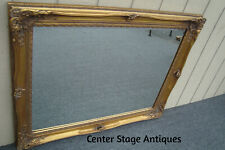 61383 La Barge Gold Decorator Beveled Mirror in Fancy Picture Frame