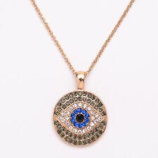 Hamsa Mano de Fatima amuletos Nazar Ojo Turco Azul Collar Colgante Collar