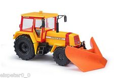 Busch 50417 Progress TRACTOR ZT 323- A with Pointed Plough, H0 Car Model 1:87