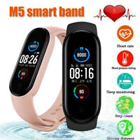 Bluetooth M5 *M4 pro*Smart Watch Heart Rate BP Fitness FIT#BIT Tracker UK seller