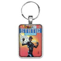 Static #1 Cover Key Ring or Necklace Milestone Comic Book Cover