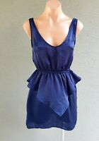 SALE ❤️ IMPRINT Party Sleeveless Peplum Sheath Dress Size 8 FREE POSTAGE L725